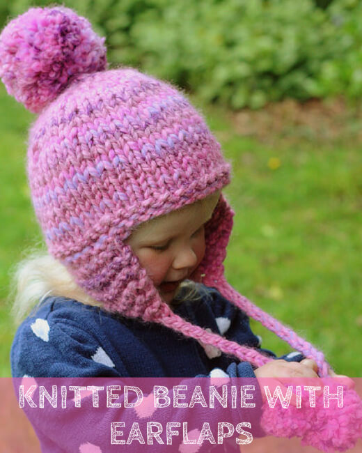 Womens Beanie With Ear Flaps Pattern