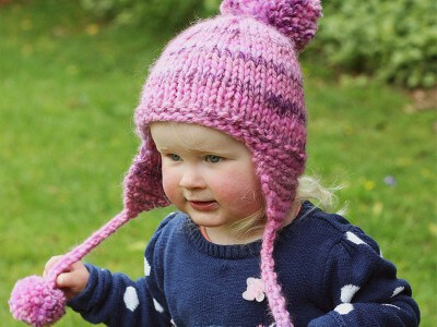 Womens Knitting Pattern Beanie With Ear Flaps