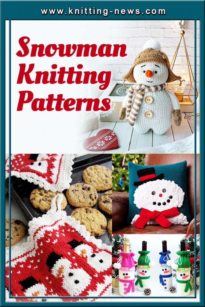 Snowman Knitting Patterns