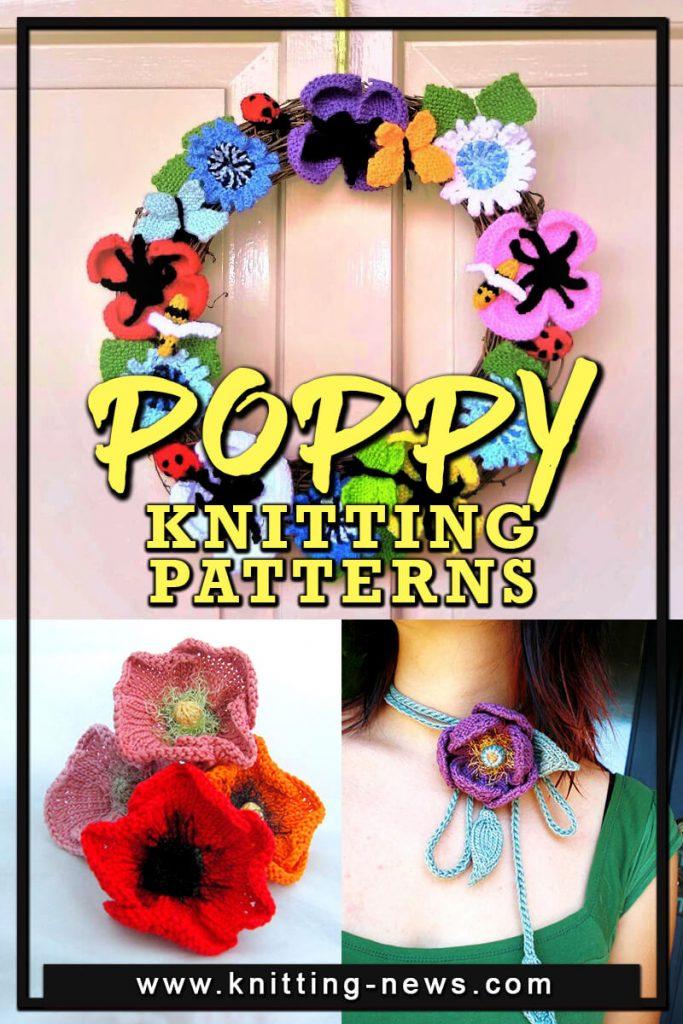 Poppy Knitted Patterns