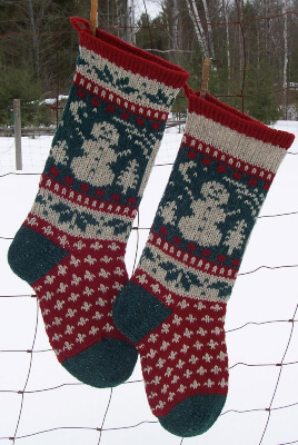 Digital Snowman Knitting Pattern by annieswoolens