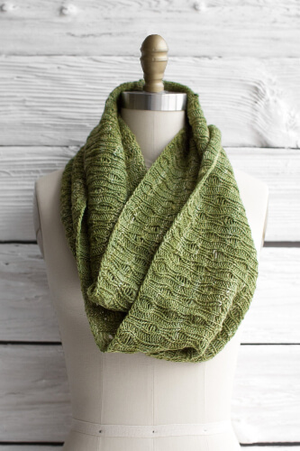 Eternidad Knitted Infinity Scarf from Manos Del Uruguay