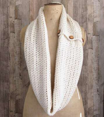 How to Knit an Infinity Scarf by Richmond Hills Knits