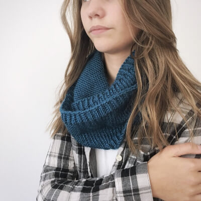 Infinity Scarf Knitting Pattern for Fall by ElainesCollection