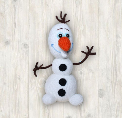 Olaf Snowman Knitting Pattern by LHCpatterns