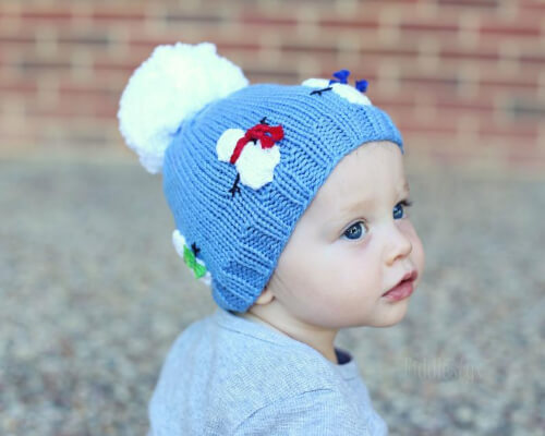 The Olaf Hat Knitted Snowman Pattern by FiddlestyxStudios
