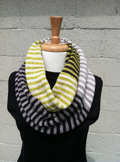 Ma Belle Amie Knitted Cowl Scarf Pattern by yarn-love