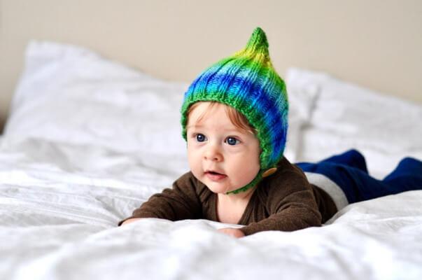 Worsted Weight Elf Hat Knitting Pattern by TheBluebirdBox