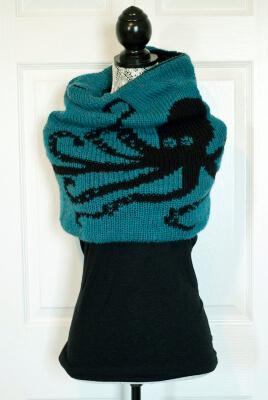 Double Knit Kraken Cowl by kraftlinG
