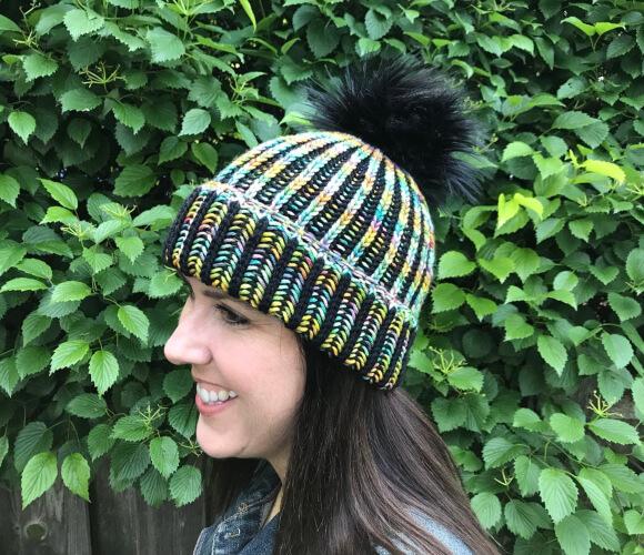 Double Take Beanie Knitting Pattern by Flynnknit