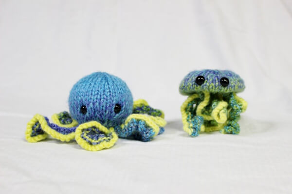 Octavius and Jerrell Knitting Pattern by HappyKnookCreations