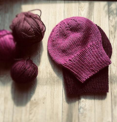 Perfect Slouch Hat Knitting Pattern by SealedbyaKris
