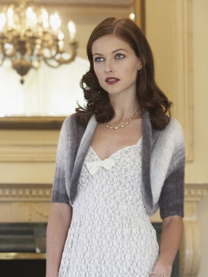 Silver Moon Shrug Knitting Pattern by Patons Design Team