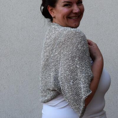Summer Shrug knitting Pattern by StudiorajkaBoutique