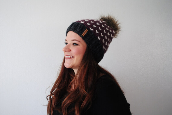 The Kimberly Beanie Knitted Pattern from Called by Nameco