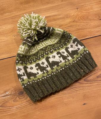 Beanie Dinosaur Knitting Pattern by Lucy Ward Design