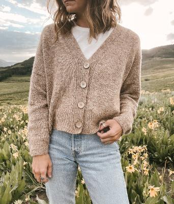 Field Day Knitted Cardigan Pattern by Ozetta