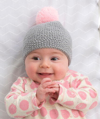 Cozy Cap Newborn Knit Hat Pattern Free by Cathy Payson