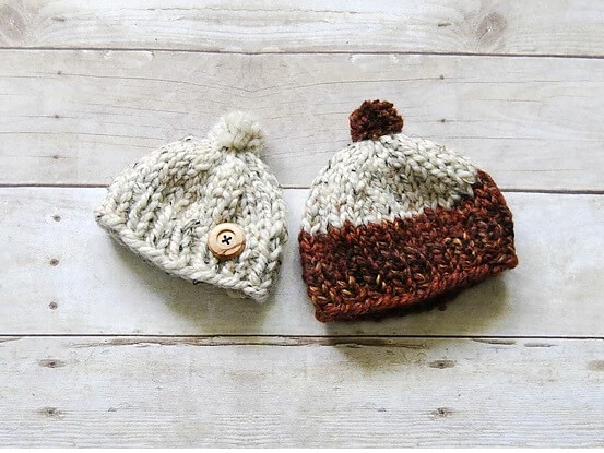 One Hour Baby Toque from Purl & Co