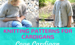 Cove Cardigan Knitting Pattern For Girls Between 2 & 11